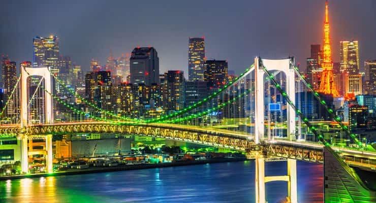романтические места в Японии